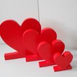 Stiropor srce za Valentinovo
